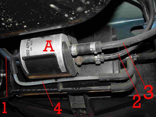 Bộ lọc xăng (lọc nhiên liệu)