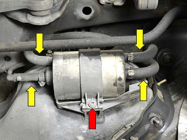 Bộ lọc xăng Mercedes W203