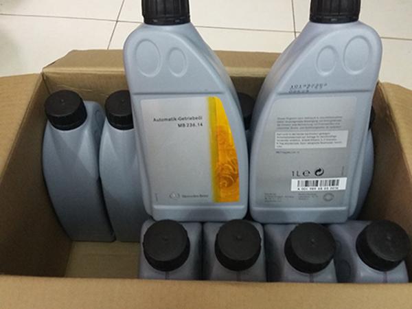 Một trong số loại dầu hộp số mercedes