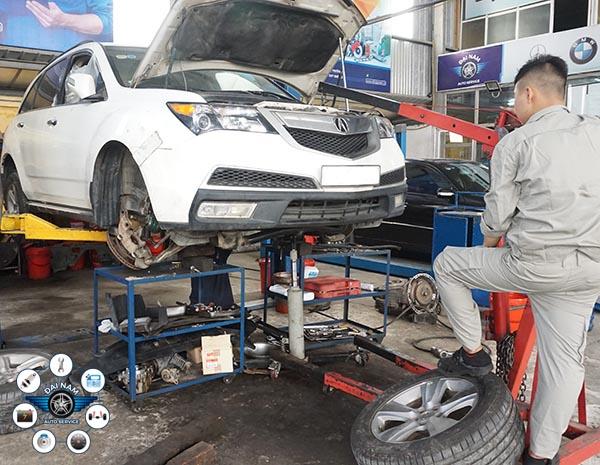 Bảo dưỡng xe Acura - Công nghệ chăm sóc xe sang hàng đầu