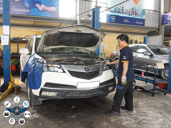 Bảo dưỡng xe Acura