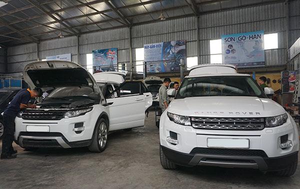Bảo dưỡng Range Rover Evoque - Đại Nam Auto là chuyên gia