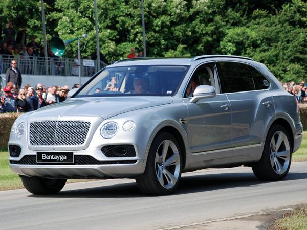 SUV siêu sang - Bentley Bentayga