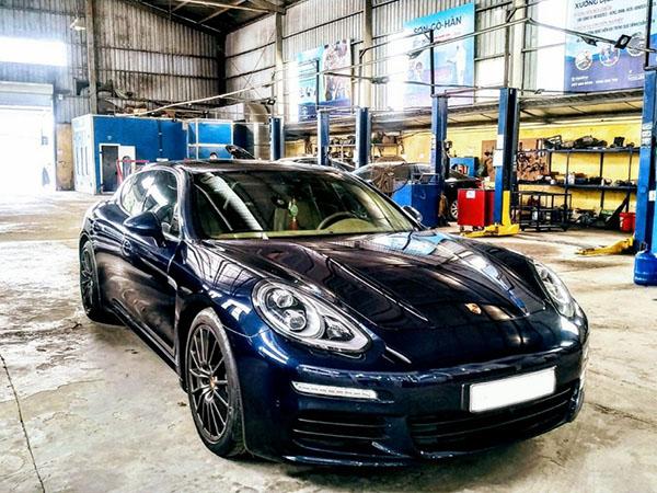 Bảo dưỡng Porsche Panamera