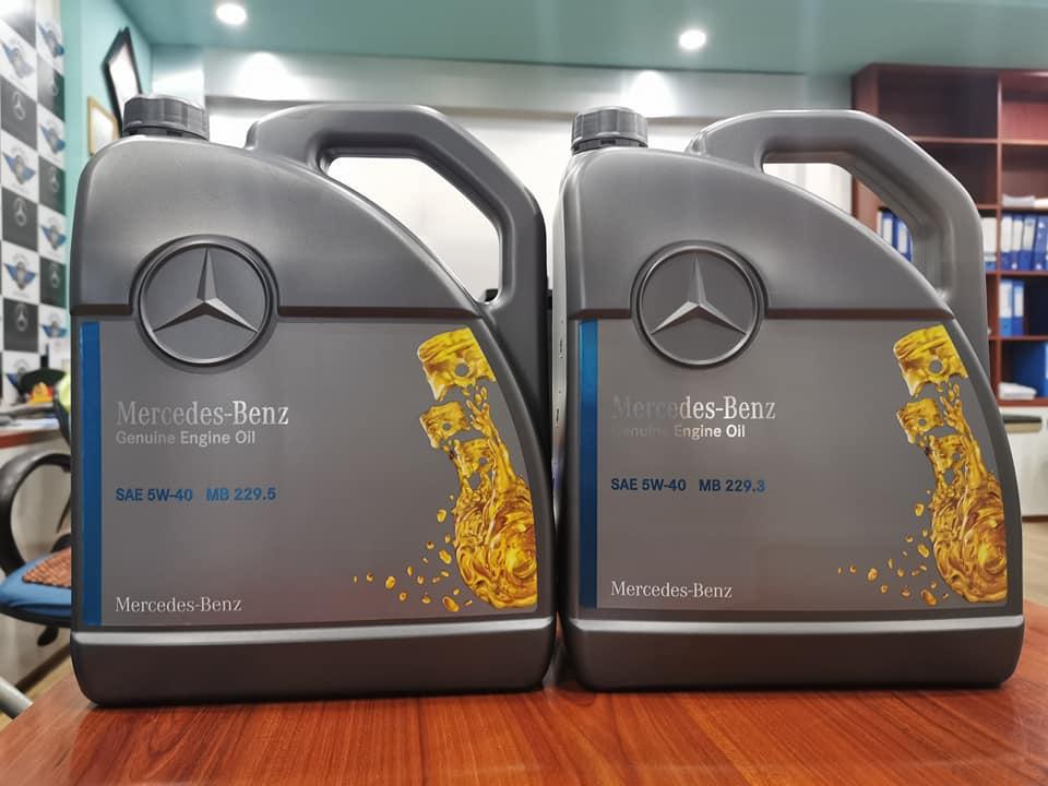 Dầu động cơ Mercedes 229.5 và 229.3 có sự khác biệt là gì?