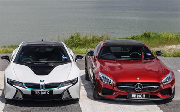 Mercedes và BMW kình địch đối đầu