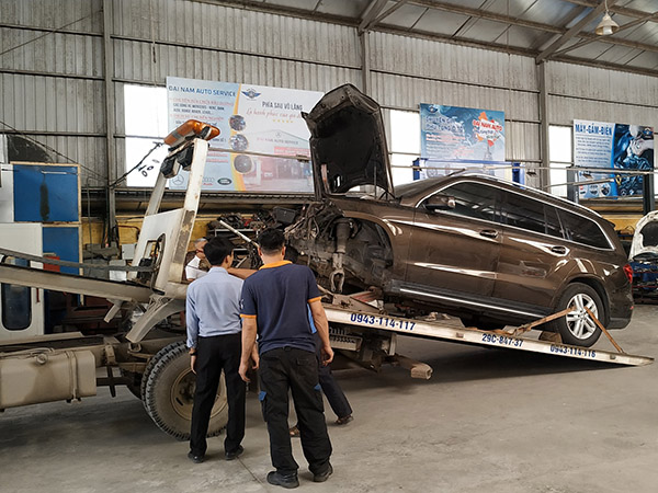 Xử lý xe tai nạn giao thông