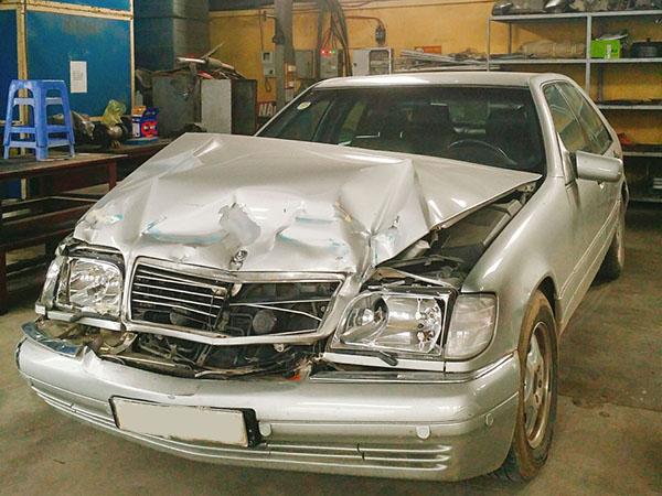 Xử lý xe tai nạn giao thông - Trường hợp của Mercedes