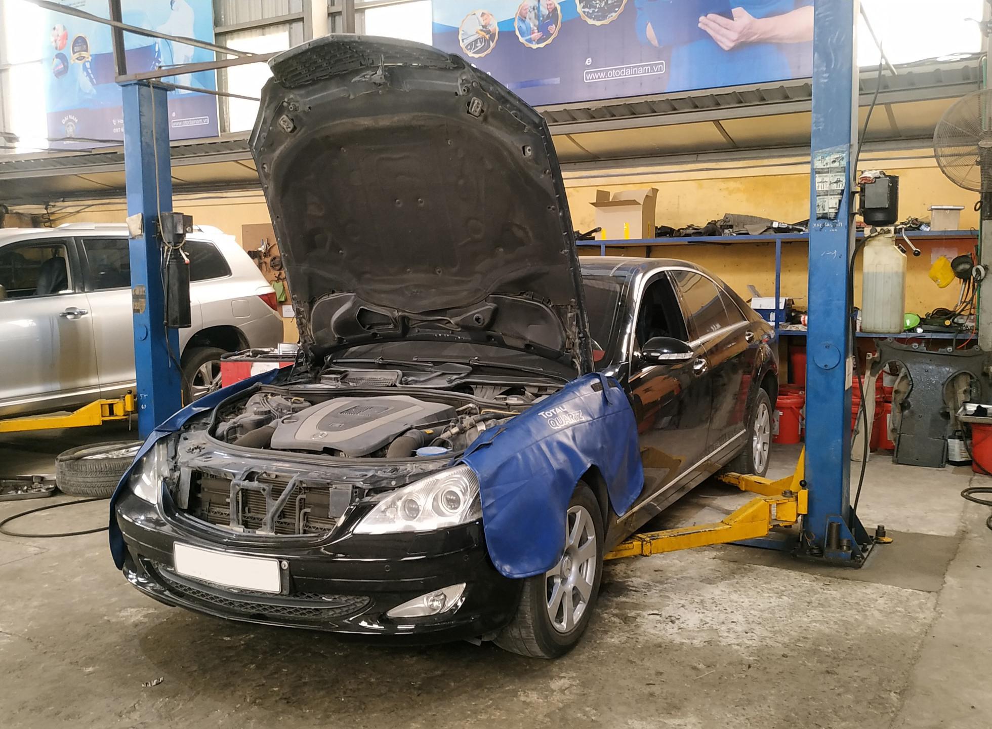 Bảo dưỡng Mercedes cần thật sự cẩn thận