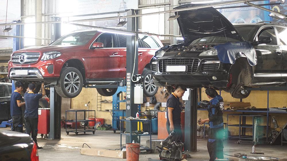 Quy trình sửa chữa, bảo dưỡng xe ô tô tại Đại Nam Auto Service