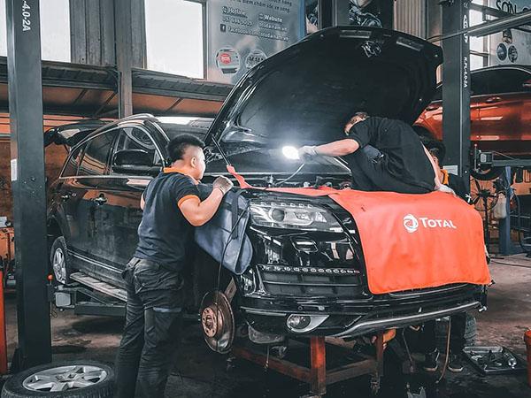 Sửa chữa Audi Q7 tại Đại Nam