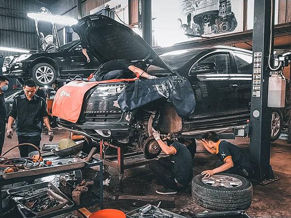 Bảo dưỡng Audi Q7 định kỳ tại Đại Nam