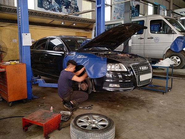 Bảo dưỡng hệ thống phanh ô tô