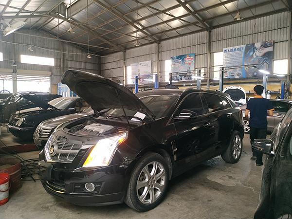 Bảo dưỡng xe Cadillac tại Đại Nam như thế nào