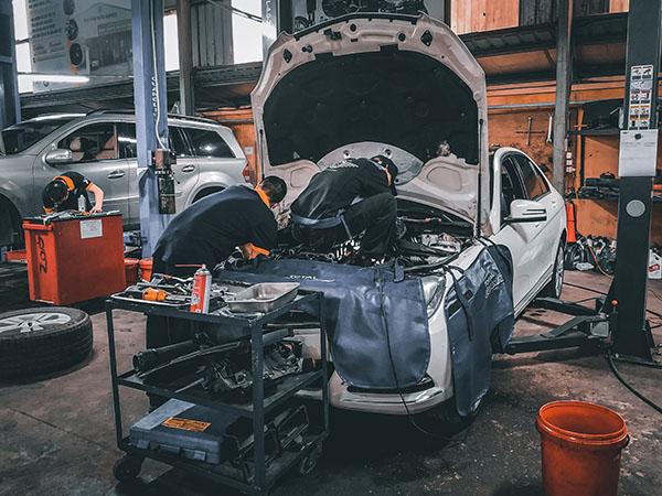 sửa và bảo dưỡng xe Mercedes tại Hoài Đức, Đan Phượng