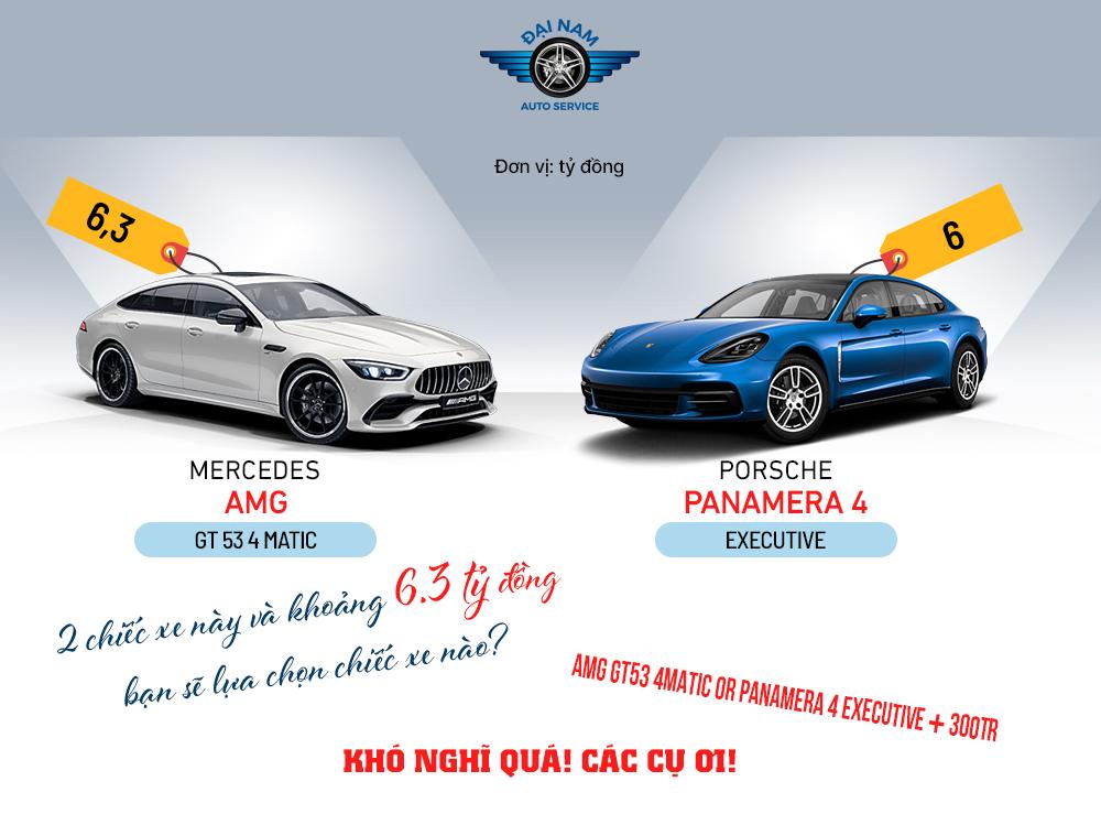 Mercedes AMG-GT53 4MATIC vs Porsche Panamera 4 Executive?