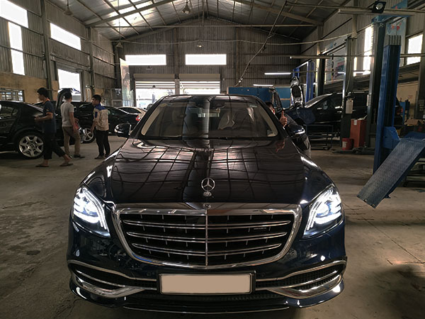 Bảo dưỡng Mercedes tại Thanh Xuân Hà Đông? Hãng đắt quá!