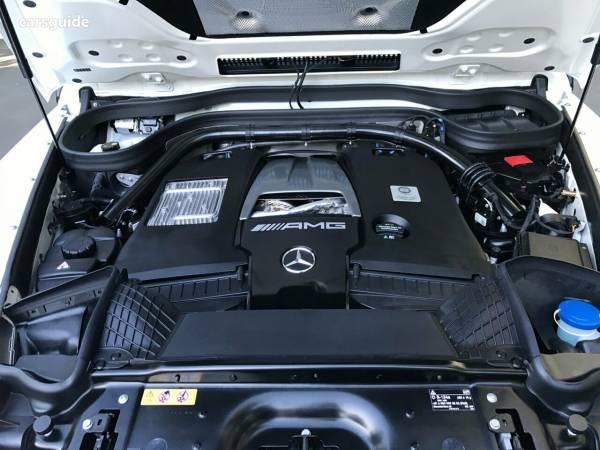 Bảo dưỡng Mercedes G63 AMG - Động cơ cực kỳ mạnh mẽ