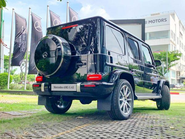 Bảo dưỡng Mercedes G63 AMG