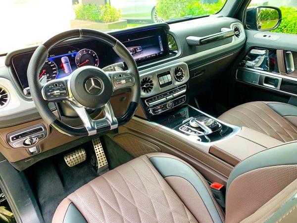 Bảo dưỡng Mercedes G63 AMG - Nội thất xe cực đẹp