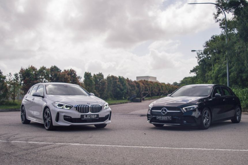 BMW 1-series và Mercedes A-Class - Kì phùng địch thủ