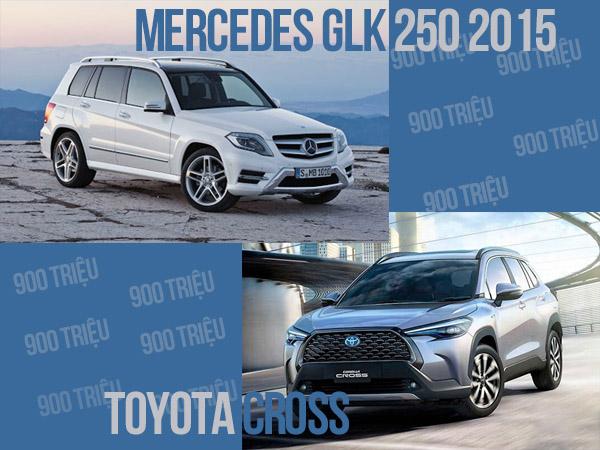 ~900 triệu chọn Toyota Cross hay Mercedes GLK 2015