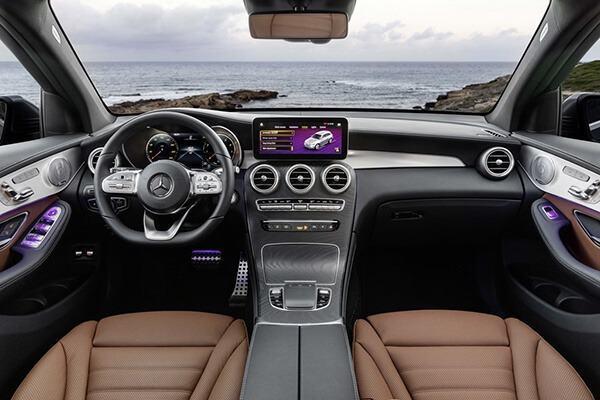 Nội thất Mercedes GLC 2022