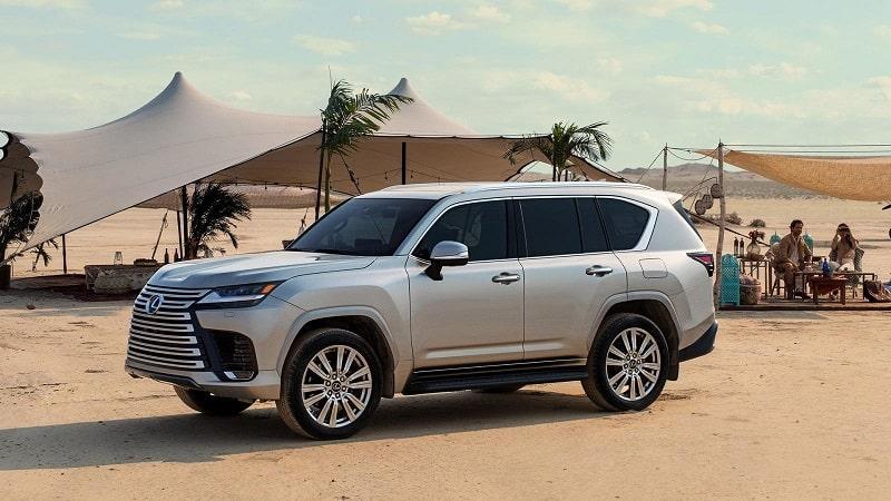 Lexus LX 2022 trình làng - Đứa con cưng thay thế cho Land Cruiser?